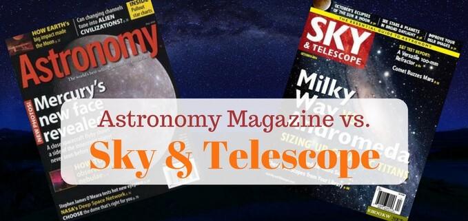 Astronomy magazine versus sky & telescope magazine featured image