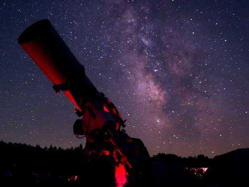 observing the night sky in cherry springs state park pennsylvania