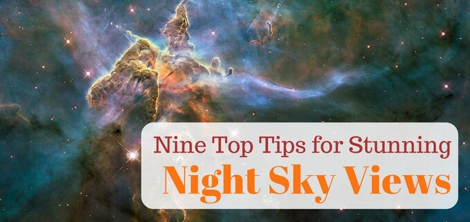 How to get the best views for backyard astronomy