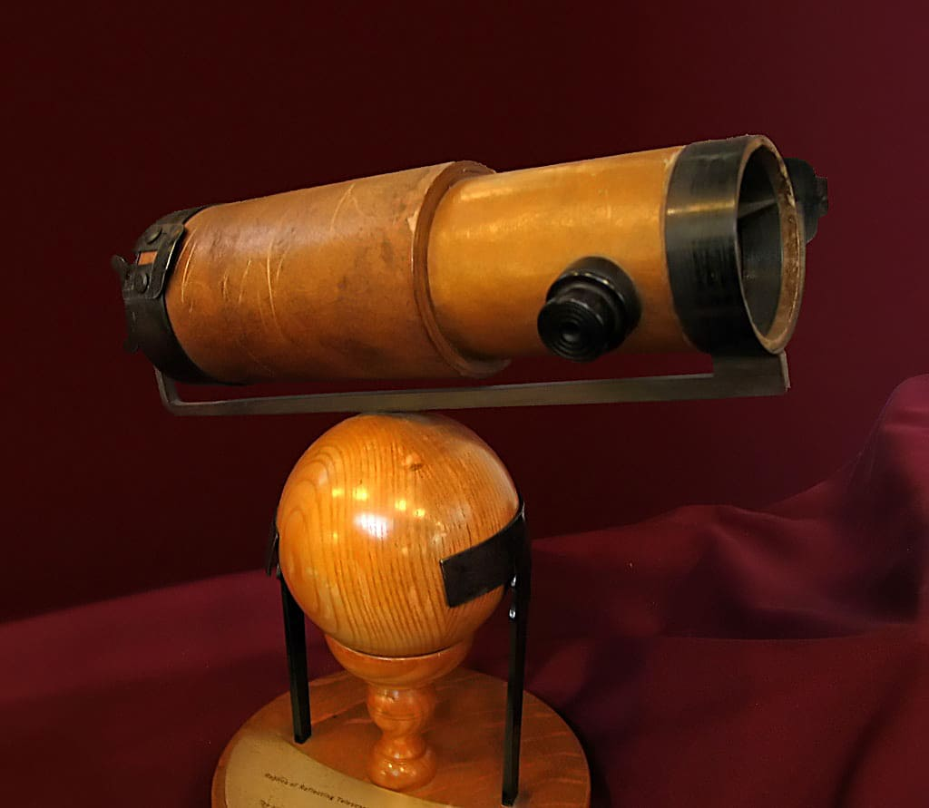 Newton's second reflector telescope