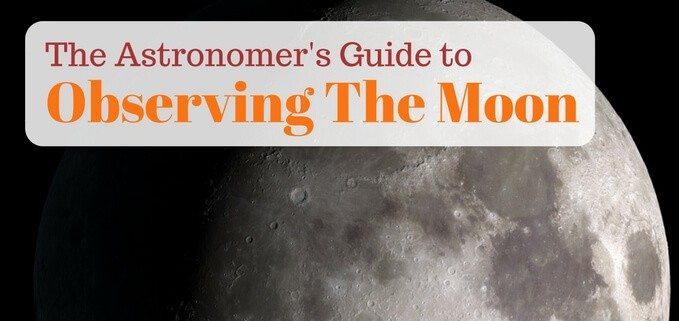 The backyard astronomer's guide to observing the moon