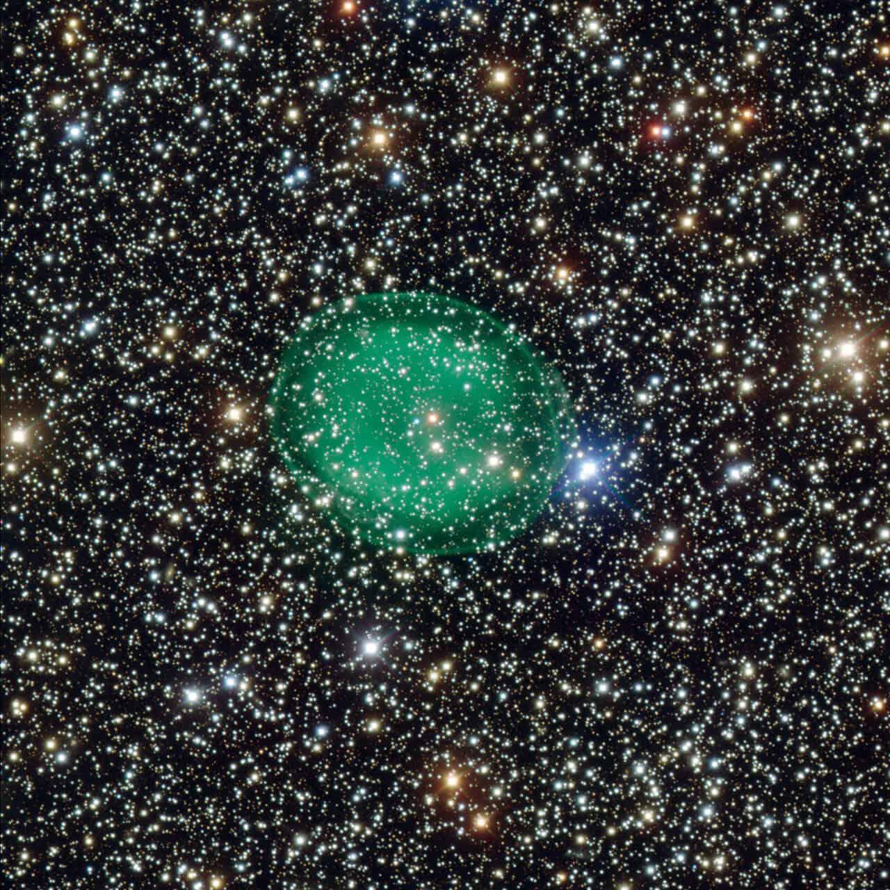IC1295, Planetary Nebula in Scutum