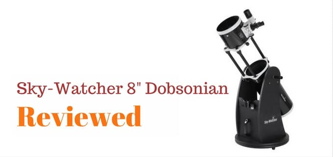 "Featured image for review of Sky-Watcher 8"" Dob telescope"