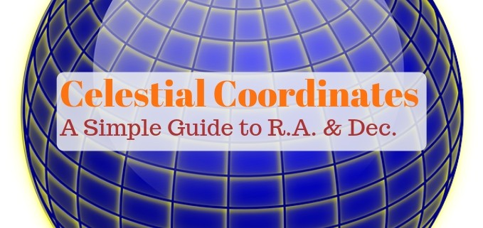Celestial coordinates astronomy guide, featured image