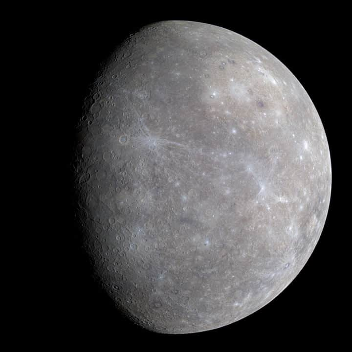 Picture of the planet Mercury taken by NASA's Messenger