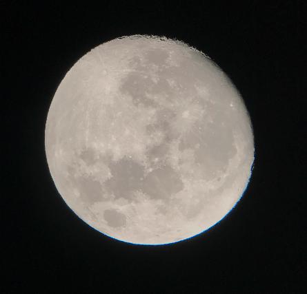 moon through 32mm celestron omni plössl