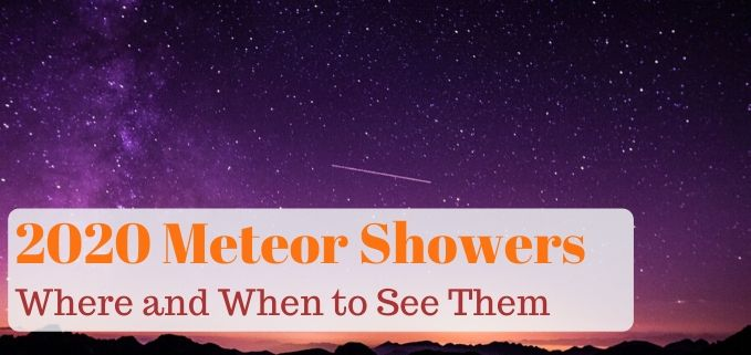 2020 meteor showers featured image