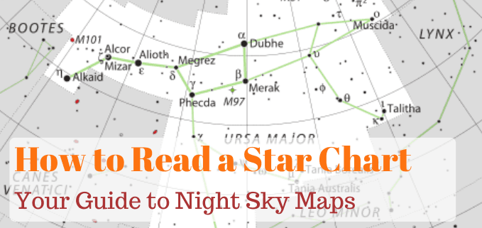 how to read a star chart featured image
