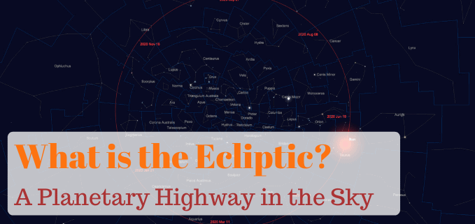 What is the ecliptic featured image