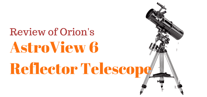 Orion AstroView 6 telescope review FI