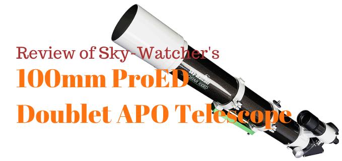 SkyWatcher ProED 100mm review FI