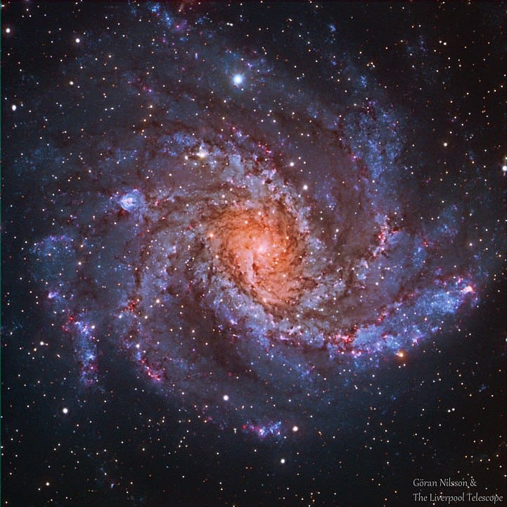 The Fireworks Galaxy, NGC 9646