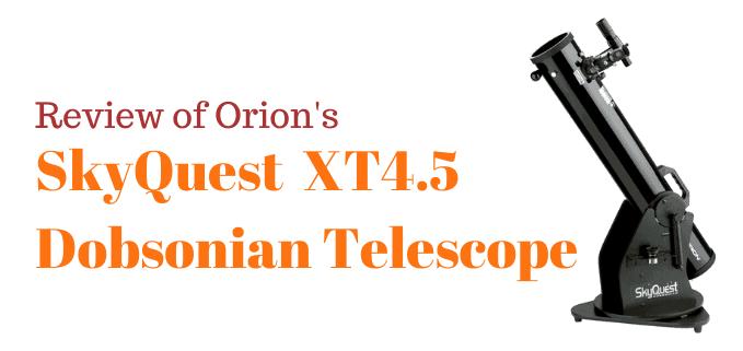 Orion 4.5XT telescope review FI
