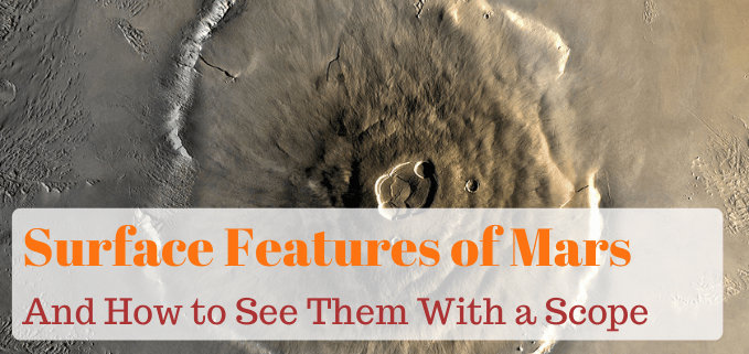 The Major Surface Features of Mars FI