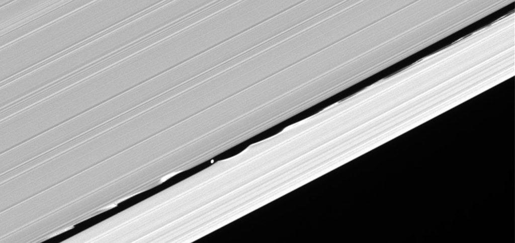 Waves in the Keeler gap of Saturn's rings