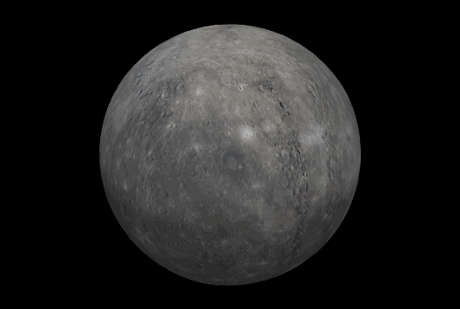 Image of planet Mercury