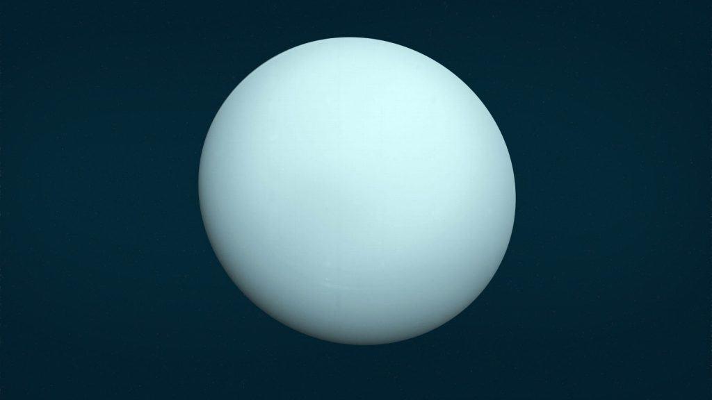 Image of planet Uranus
