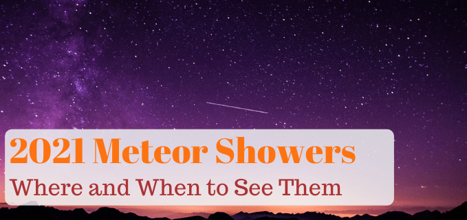 Meteor Showers of 2021 FI