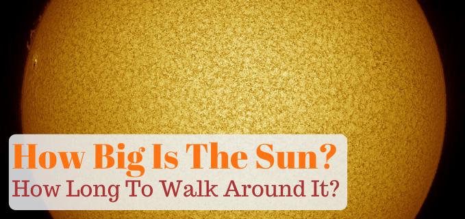 How big is the sun FI