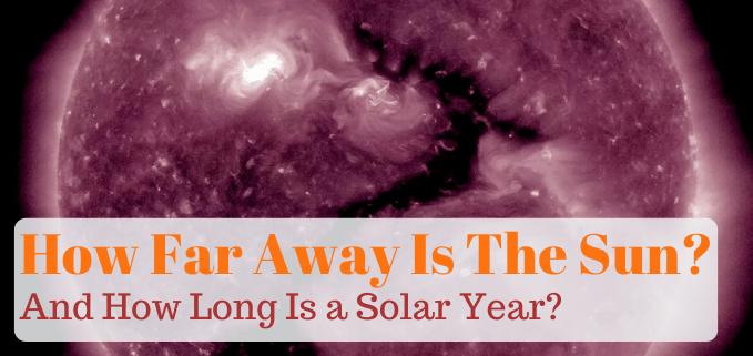 How far away is the sun FI