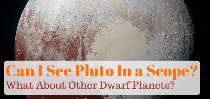 Seeing Pluto in a telescope FI