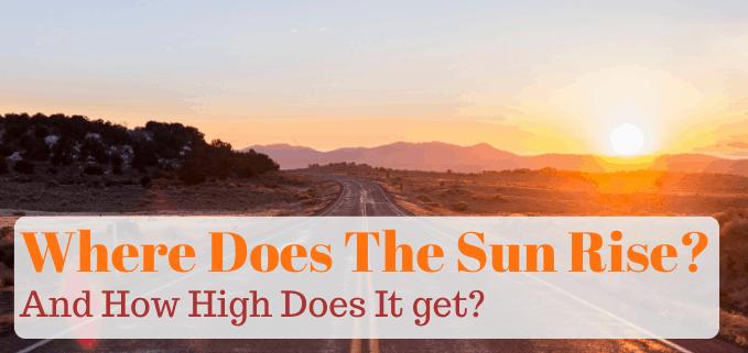 Where does the sun rise fi